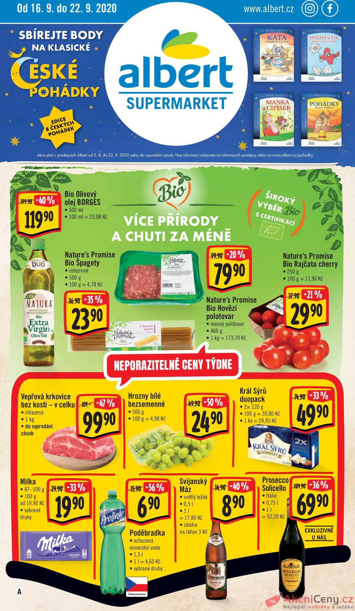 Leták Albert Supermarket strana 1/24