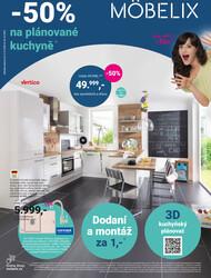 Leták Möbelix kuchyně od 12.10. do 25.10.2020