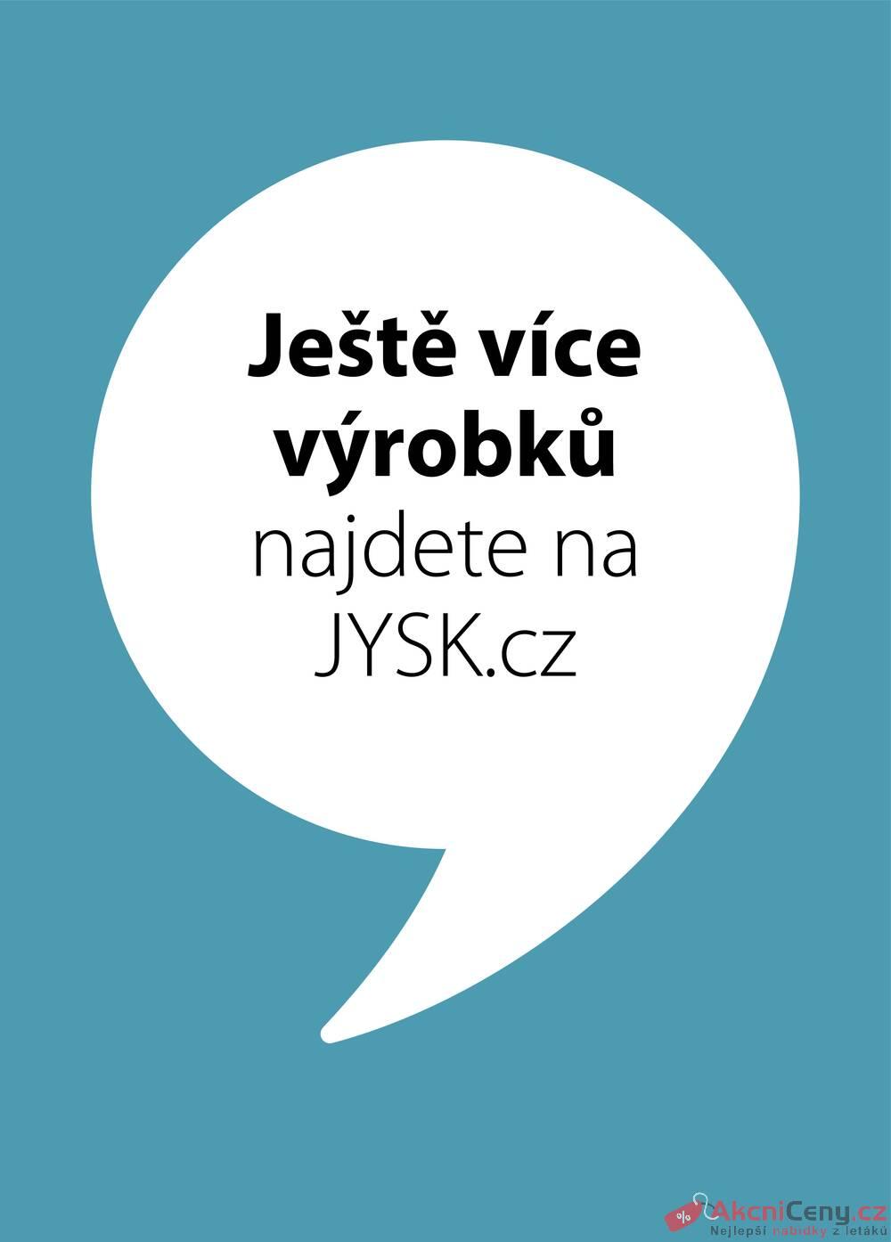 Leták Jysk - Jysk do 28.10. - strana 1