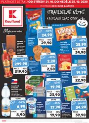 Leták Kaufland 21.10. - 25.10. - Kaufland - České Budějovice