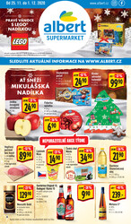 Leták Albert Supermarket od 25.11. do 1.12.2020