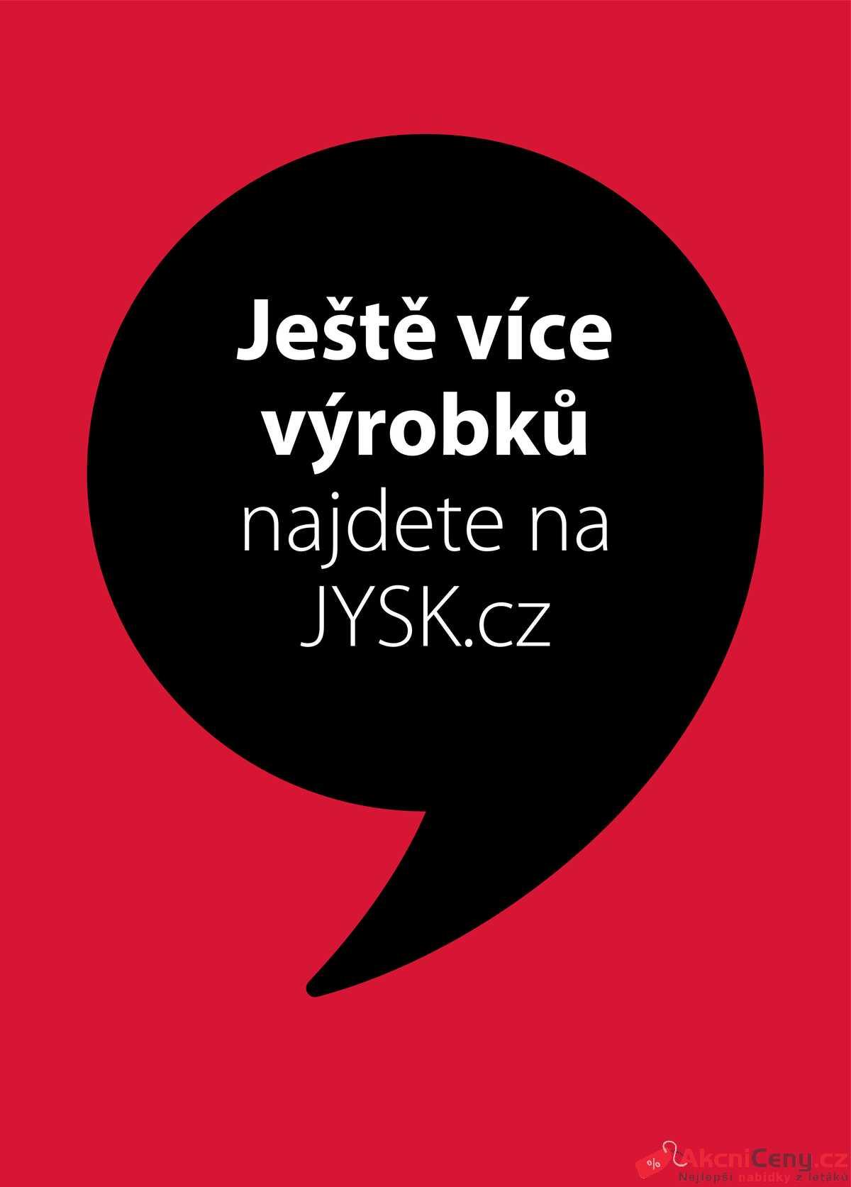 Leták Jysk strana 1/17