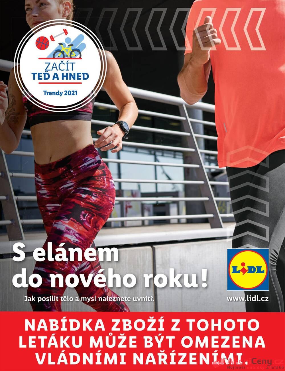 Leták Lidl - Lidl Fitness brožura do 28.3. - strana 1