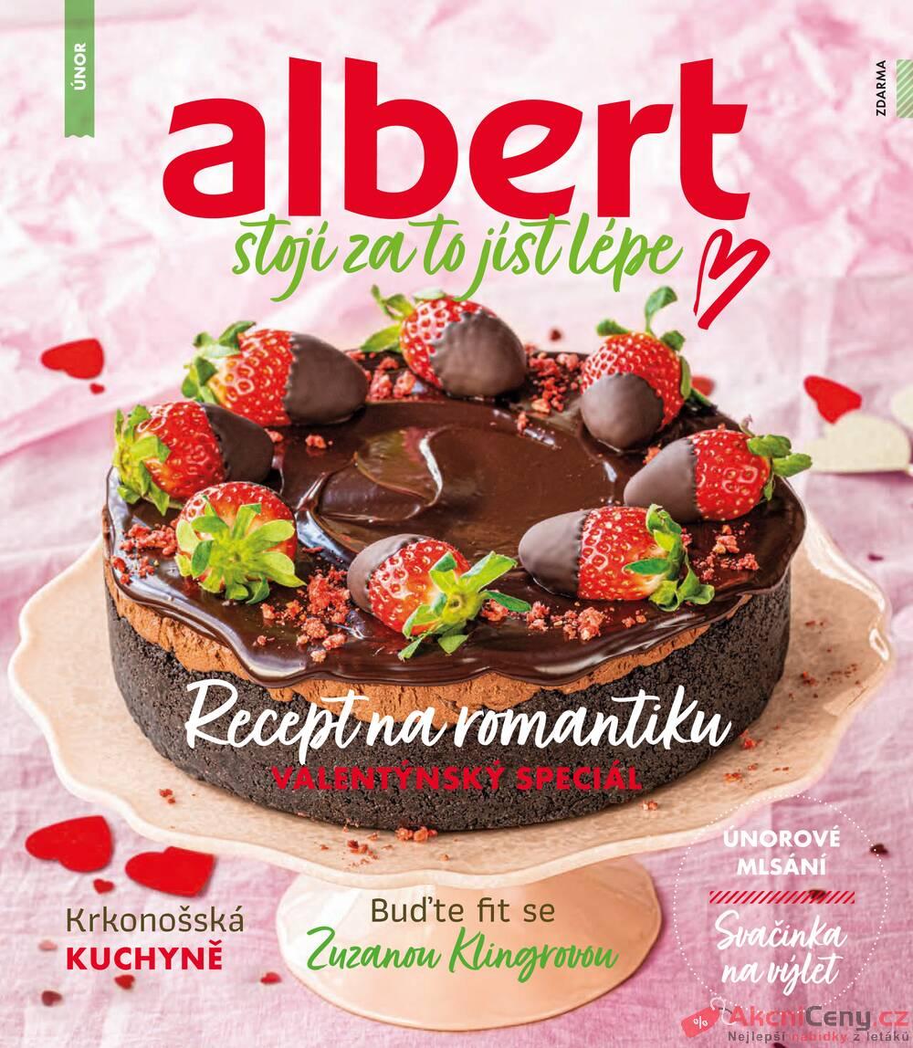 Leták Albert - Albert Magazín do 2.3. - strana 1