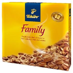 Tchibo Family mletá káva  v akci