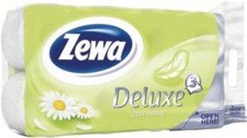 Zewa Deluxe toaletní papír 3-vrstvý 8 rolí, vybrané druhy