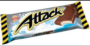 Attack oplatka v akci