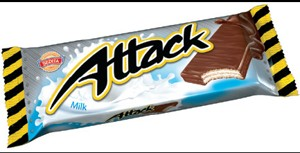 Attack oplatka