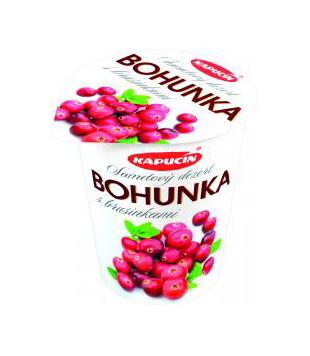Kapucín Bohunka smetanový dezert s příchutí