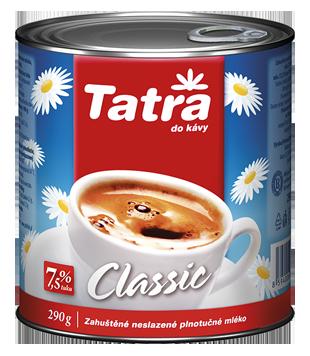 Tatra Classic kondenzované neslazené mléko 7,5 %