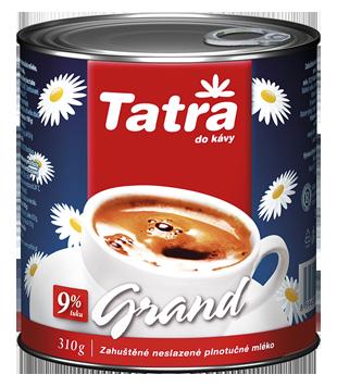 Tatra Grand kondenzované neslazené mléko 9 %