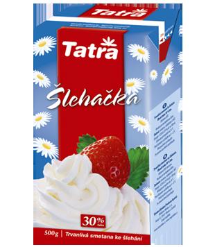 Tatra smetana na šlehání 30%