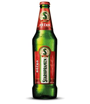 Staropramen Déčko 0,5l výčepní světlé pivo