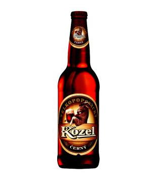 Velkopopovický Kozel Černý, tmavé výčepní pivo 0,5l