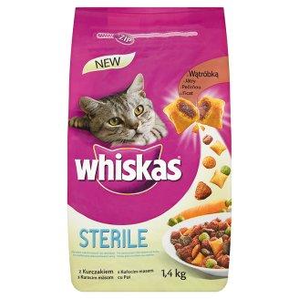 Whiskas granule pro kočky 1,4kg, různé druhy