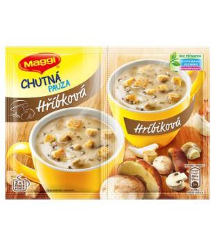 Maggi Chutná pauza, instantní polévka, různé druhy