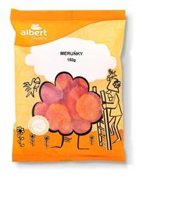 Albert sušené meruňky