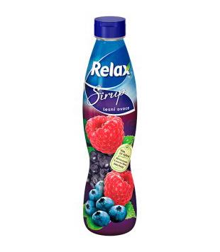 Relax ovocný sirup 0,7l, různé druhy