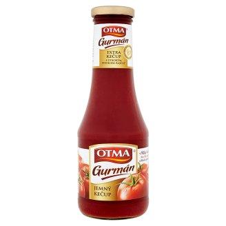 Otma Kečup Gurmán 530g, vybrané druhy