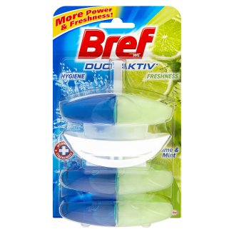 Bref Duo active WC blok 3x50ml, vybrané druhy