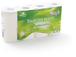 Albert Toaletní papír 3-vrstvý