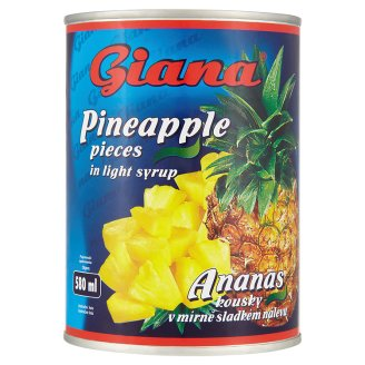 Giana Ananas 565g, vybrané druhy