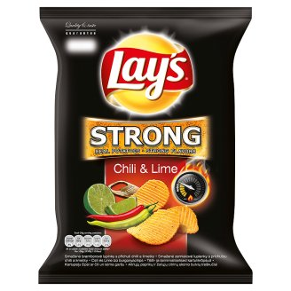 Lay's Strong 77g, vybrané druhy
