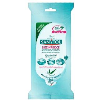 Sanytol Dezinfekce jednorázové čistící utěrky