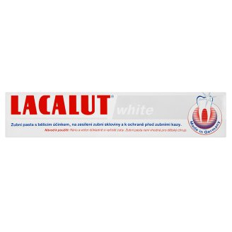 Lacalut White zubní pasta s bělícím účinkem