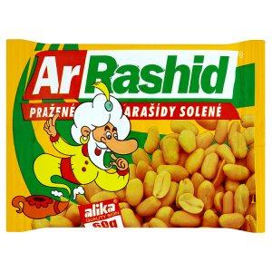 ArRashid Pražené arašídy solené 60g