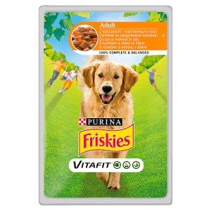 Friskies PES VitaFit kapsička s kuřetem a mrkví ve šťávě 100g