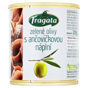 Fragata olivy s náplní ve slaném nálevu 200g, vybrané druhy