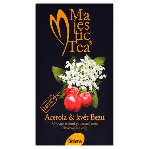Biogena Majestic Tea Acerola & květ Bezu ovocno-bylinná porcovaná směs 20 x 2,5g