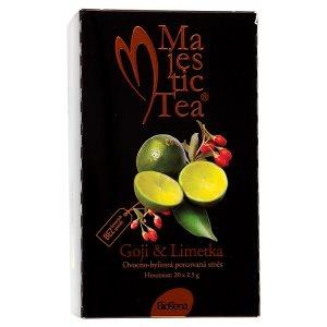 Biogena Majestic Tea Goji & Limetka ovocno-bylinný čaj porcovaný 20 x 2,5g
