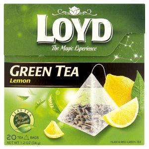 Loyd Zelený čaj, vybrané druhy 20 sáčků