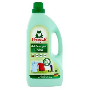 Frosch Tekutý prací prostředek na barevné prádlo 1,5l