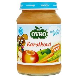 Ovko Karotková kojenecká výživa 190g