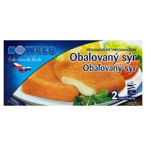 Nowaco Obalovaný sýr předsmažený 200g