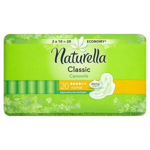 Naturella Classic camomile hygienické vložky normal s jemnou vůní 20 ks
