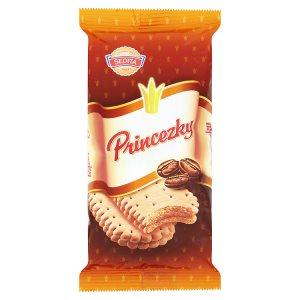 Sedita Princezky Sušenky s krémovou náplní s kávovou chutí 80g