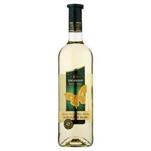 Víno Mikulov Sauvignon blanc suché bílé víno 0,75l