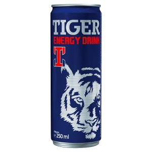 TIGER energy drink 250ml, vybrané druhy