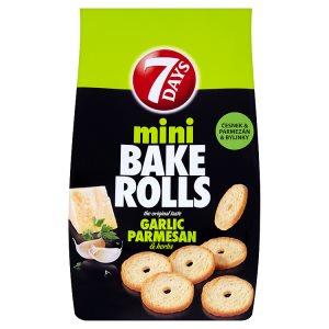 7 Days Bake Rolls Mini 80g, vybrané druhy