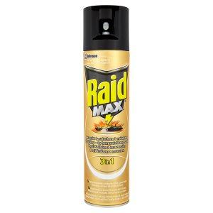 Raid Max 3v1 proti lezoucímu hmyzu insekticidní aerosolový přípravek 400ml