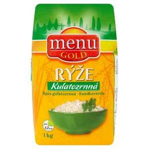 Menu Gold Rýže kulatozrnná 1kg