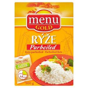 Menu Gold Rýže parboiled 4 x 125g