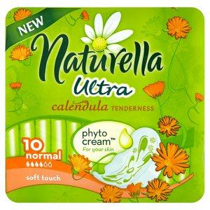 Naturella Calendula Tenderness ultra normal hygienické vložky s jemnou vůní 10 ks