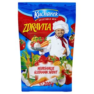 Kucharek Zdravita přísada do jídel 200g