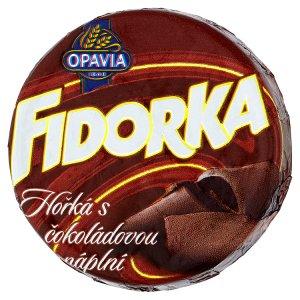 Opavia Fidorka Hořká s čokoládovou náplní 30g