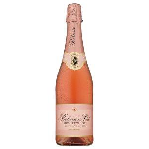 Bohemia Sekt Rose demi sec jakostní šumivé víno růžové 0,75l